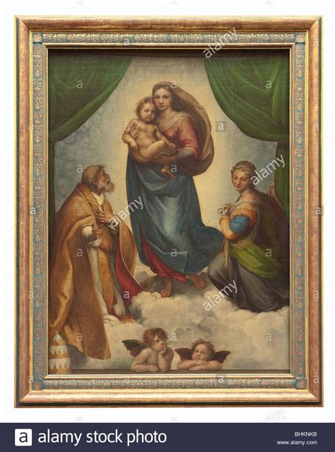 Sistine Madonna (Madonna and Child with Pope Sixtus II and