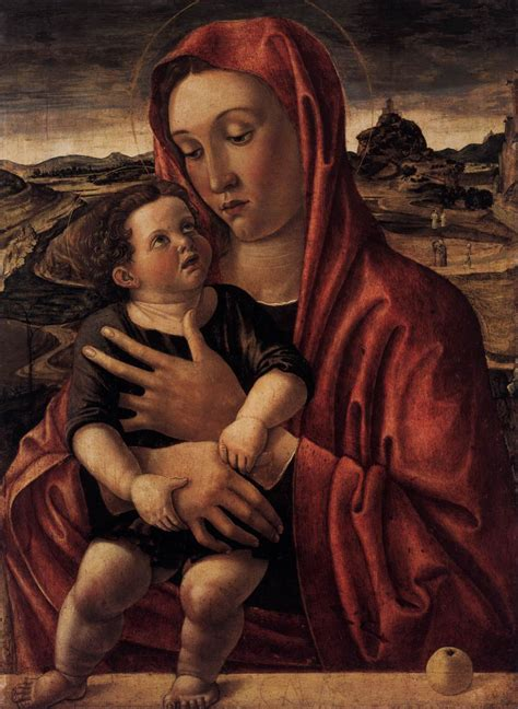 File:Giovanni Bellini - Madonna, with Child Standing on a