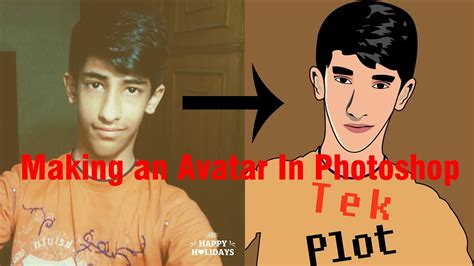 Convert your picture into an Animated Cartoon(Avatar