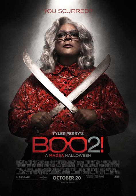A Third Poster To Tyler Perry's 'Boo 2! A Madea Halloween