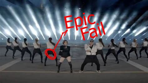 PSY - GENTLEMAN M/V Epic Fail - YouTube