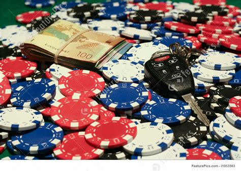 All In Poker Pot Stock Picture I1953563 at FeaturePics