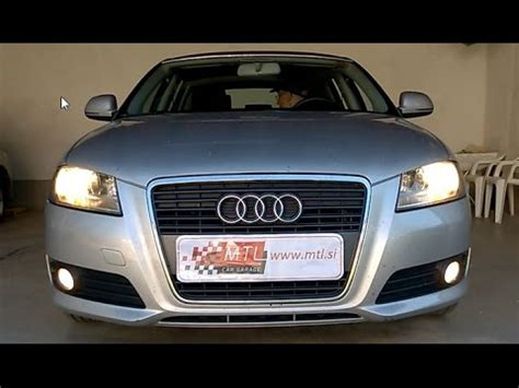 Audi A3 8P - fog lights on with reverse gear activation