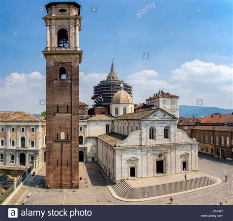 Turin Cathedral (Duomo di Torino Stock Photo: 145163151
