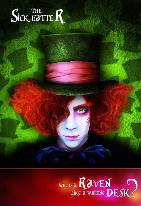 Photo manipulation: The Mad Hatter Makeover - Photoshop