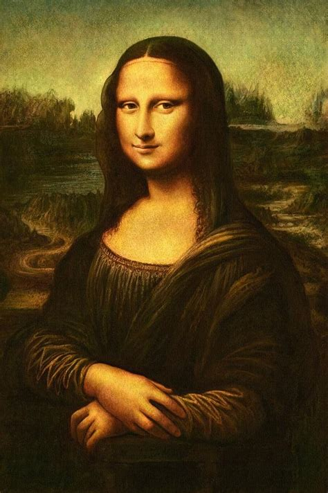 Mona Lisa Painting by Pam Neilands