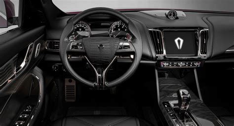 Maserati Levante Interior Dialed Up To 'Glamorous' By
