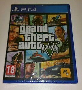 Grand Theft Auto V PS4 Game NEW Sealed UK PAL Sony
