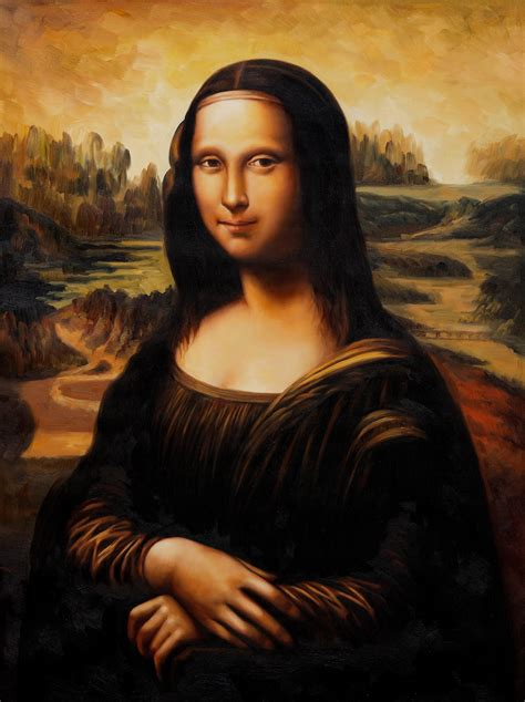 Mona Lisa Still Smiling: Most Talked About Oil Painting Of