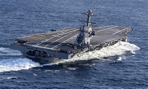 Primed for a Busy Year Ahead, Carrier Gerald R Ford Will