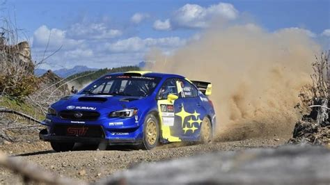 Solberg Spins Subaru STI Tires To The Cords In First ARA