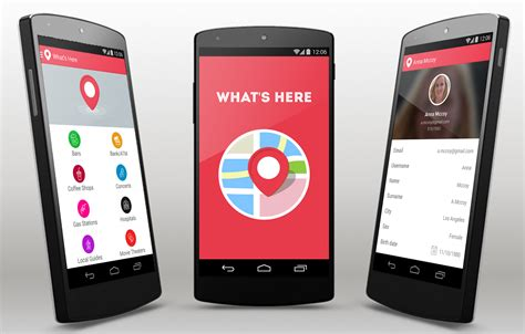 What's Here Android App Template
