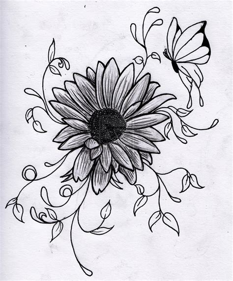 Drawing Flowers | 3D Drawing